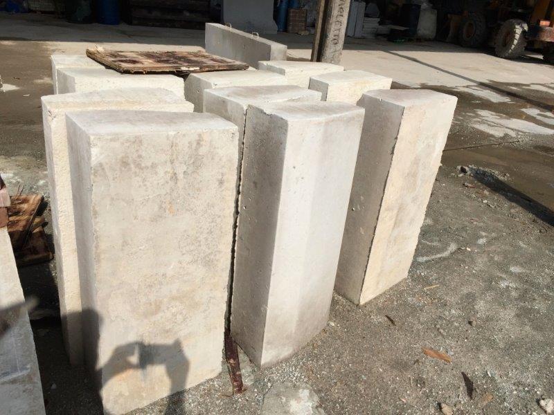 Guias e sarjetas de concreto
