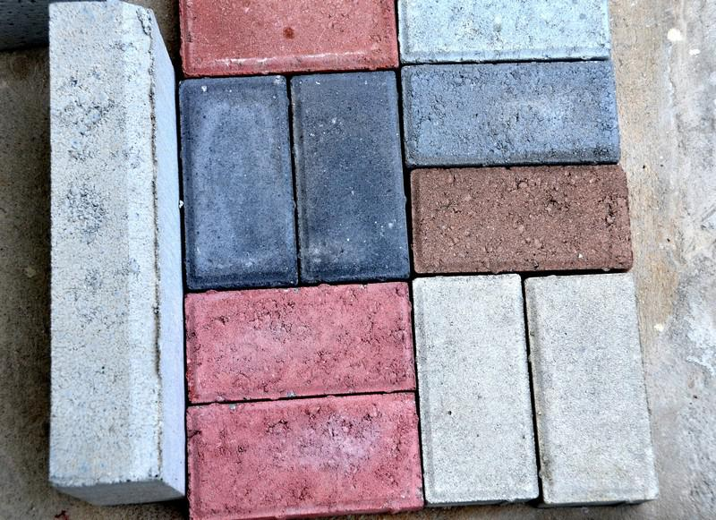 Piso de concreto paver