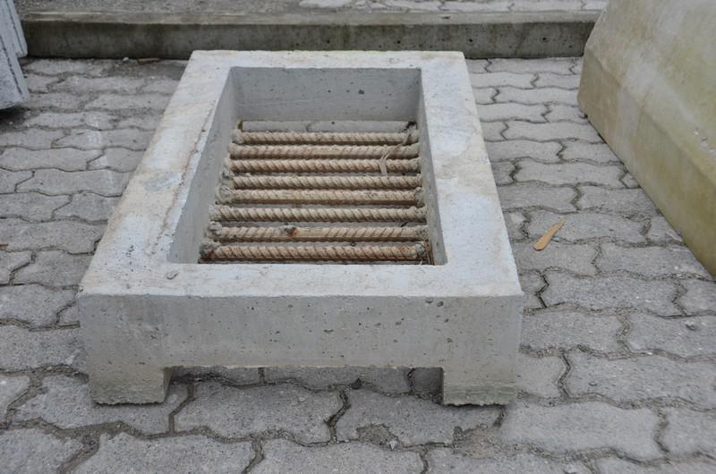 Ralo de concreto
