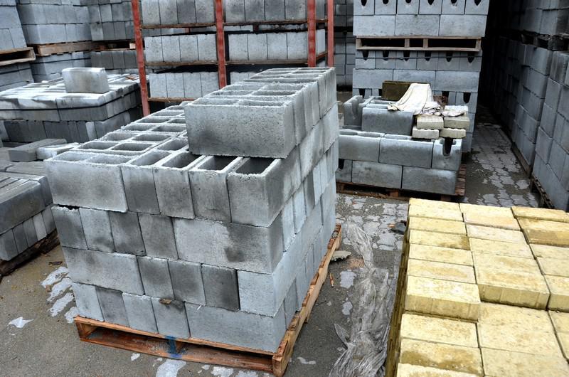 Fabricante de blocos de cimento
