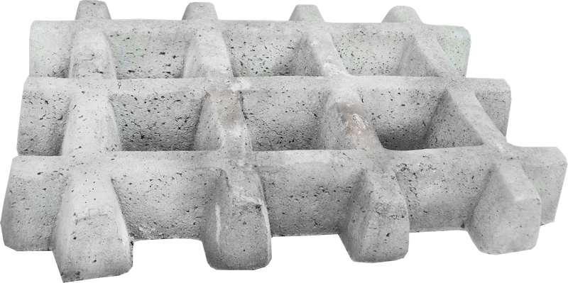 Pisograma de concreto