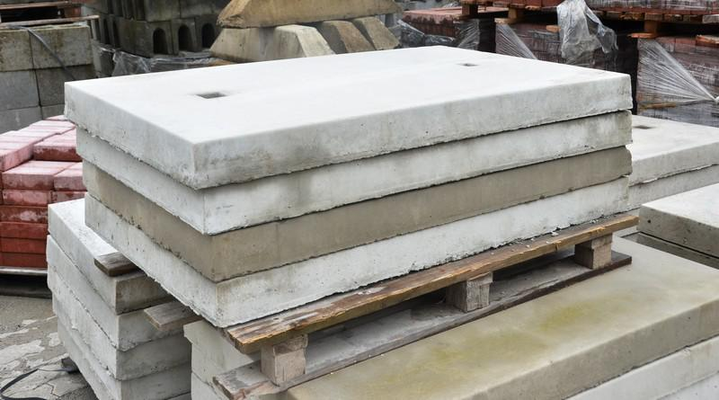 Tampa de concreto