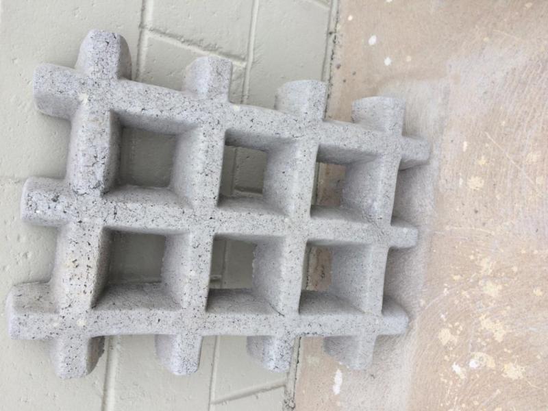 Grelha de concreto armado