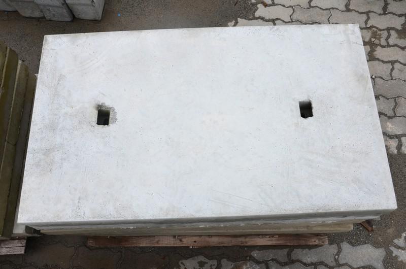 Tampa de concreto para boca de lobo